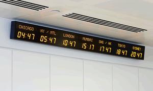 World Time Zone Wall Clocks | Time Zone World Clock