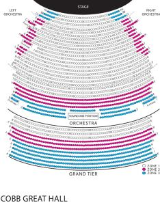 View seating map also waitress wharton center for performing arts rh whartoncenter