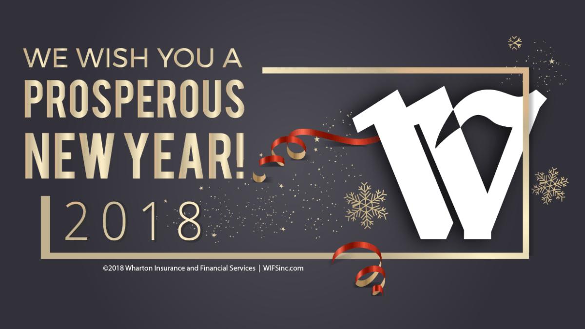 Happy New Year, from the Wharton Insurance Team