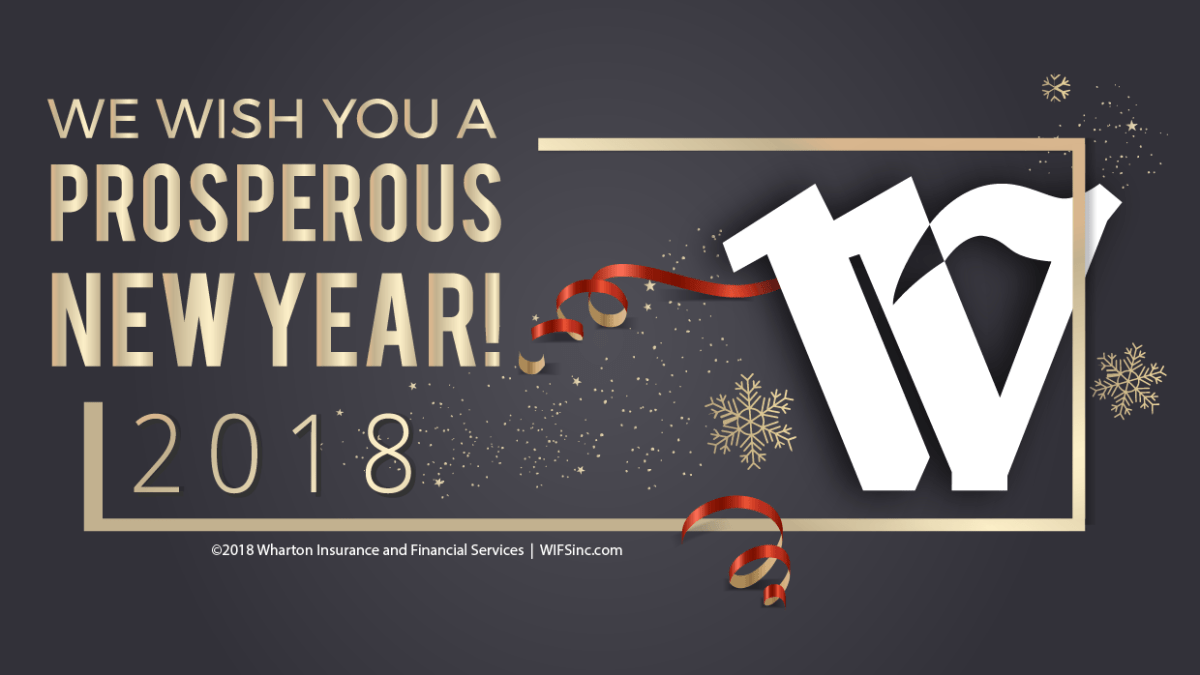 Happy New Year, from the Wharton Insurance Team