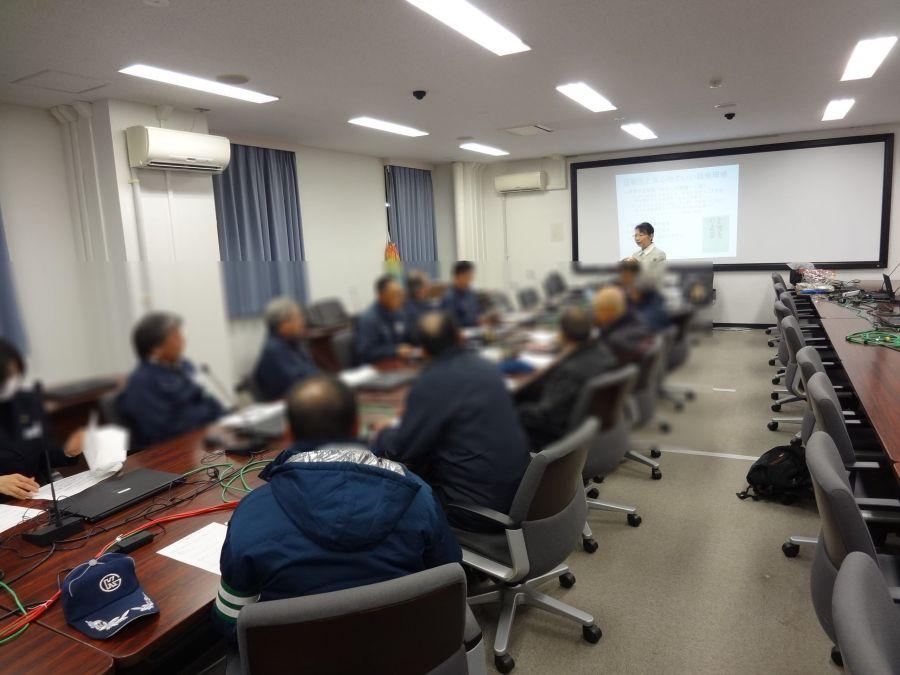 仙台で警備業の皆さんのビジネスマナーとクレーム応対研修の講師を務めました(宮城県仙台市)_fx_DSC04375