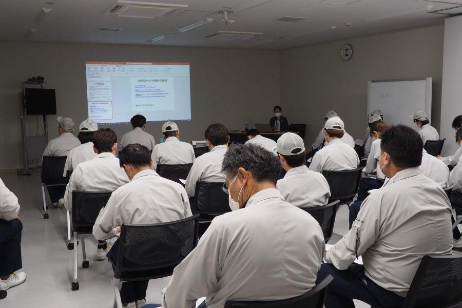 製造業の皆さんにパワハラ防止研修の講師を務めました(山形県飯豊町)_OLYMPUS DIGITAL CAMERA