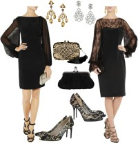 What Jewelry Should I Wear With A Black Lace Dress - Style ...