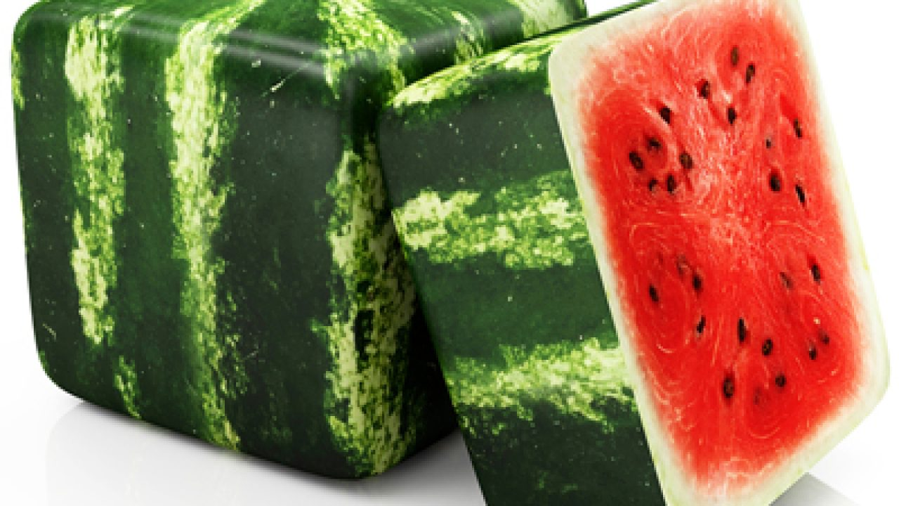 cube watermelon one of