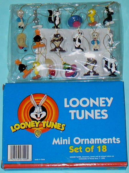 Looney Tunes Christmas Ornaments