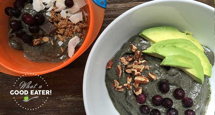Toddler Smoothie Bowl!