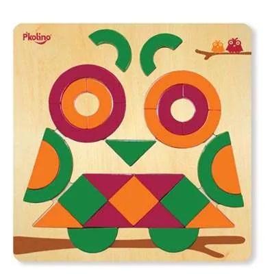 Multi-Solution Puzzle - P'kolino Owl