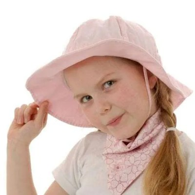 Twinklebelle Grow-With-Me Sun Hat - Pink