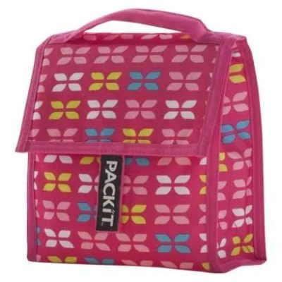 PackIt Freezable Non-Toxic Personal Cooler Lunch Bag - Petal