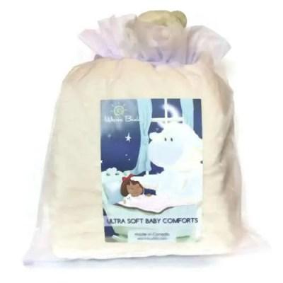 Warm Buddy Cream Baby Blanket Set