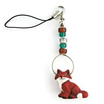 Fox Zipper Pull