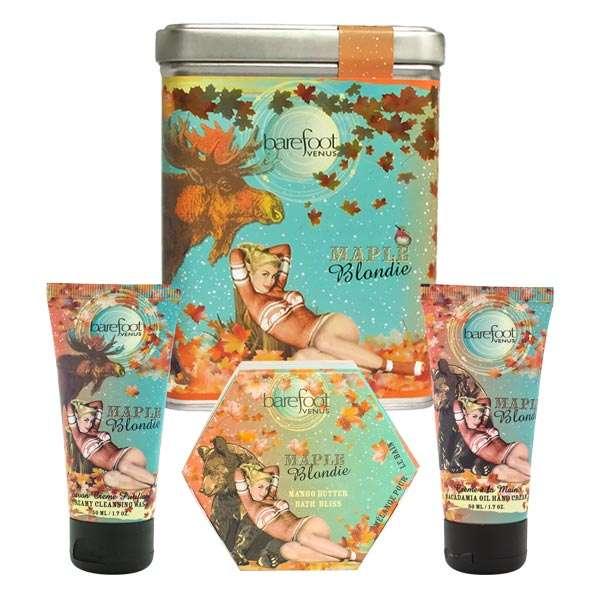 Maple Blondie Gift Set by Barefoot Venus