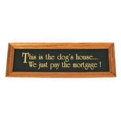 Dog's House Sign