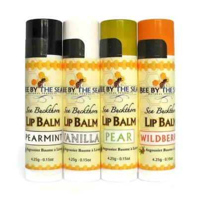 Lip Balms With Sea Buckthorn Extract