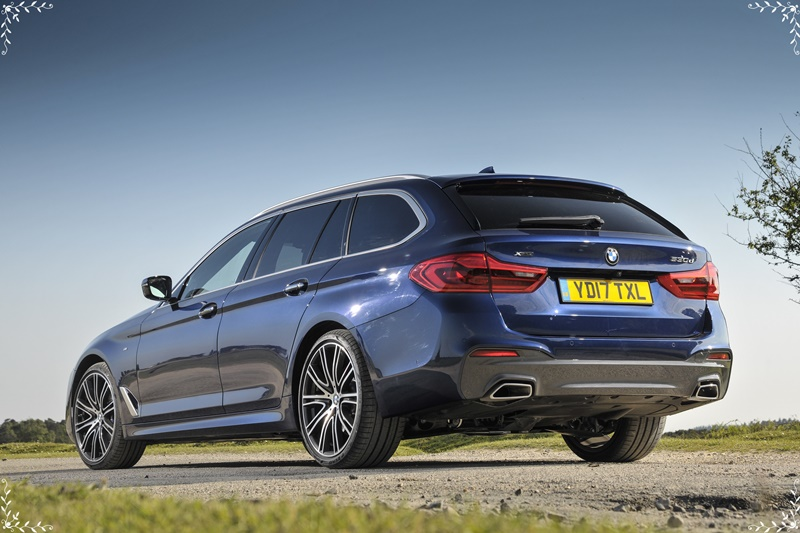 The new BMW 530i Touring M Sport 7