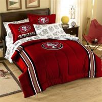 49ers Bedding Sets, NFL Twin, Full, Queen Comforter ...