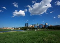 View of Downtown Fort Worth from the Trinity River.