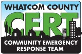 The Whatcom CERT program logo