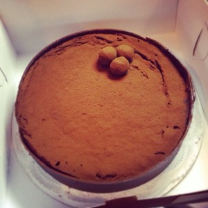 Have you tried Mount Bakery's chocolate truffle cake?
