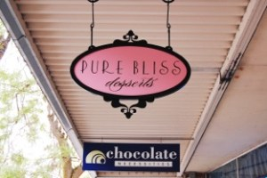 Pure Bliss Desserts. The name says it all.