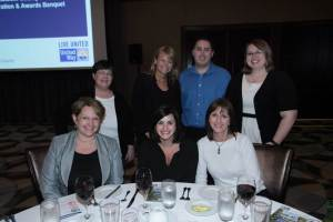 The PeaceHealth group from St. Joseph Medical Center were the recipients of one of United Way's Super Star Awards.