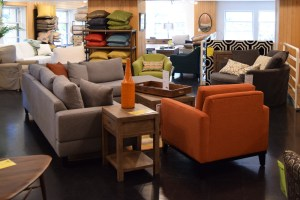 Greenhouse offers an array of furniture, from dining room tables and chairs to sofas and accent pieces.