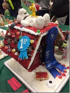 Snoopy's Merry Christmas grabbed First Place for the Family Category in 2015. Photo credit: Darcy Walters.