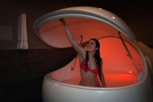 Everyone's experience is unique and different when it comes to floating. Photo courtesy: Still Life Massage and Float.