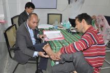 Dr. Binay Shah also sees patients in Ujjain, India. Photo courtesy: Binaytara Foundation.
