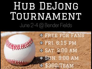 46th Annual Hub DeJong Baseball Tournament @ Bender Fields | Lynden | Washington | United States
