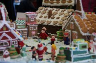 From candy-adorned gingerbread houses by young kiddos to elaborate buildings by professional bakers, festive Gingerbread House Contest entries are a sight to behold. Photo courtesy: Port of Bellingham.