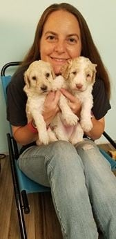 There's lots of puppy love to go around. Photo courtesy: Brigadoon Service Dogs.