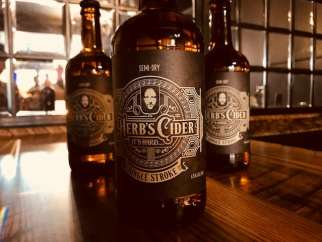Photo courtesy: Herb's Cider.