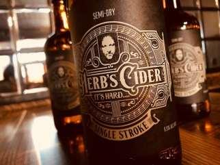 Photo courtesy: Herb's Cider.