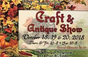 29th Annual Fall Craft & Antique Show @ Northwest Washington Fair and Event Center   Lynden   Washington   United States