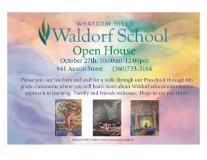Whatcom Hills Waldorf School Open House @ Whatcom Hills Waldorf School | Bellingham | Washington | United States