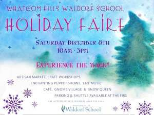 Whatcom Hills School Holiday Faire @ Whatcom Hills Waldorf School | Bellingham | Washington | United States