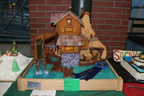 Express your creativity at the gingerbread house contest. Photo courtesy: Port of Bellingham.