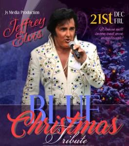 Jeffrey Elvis Blue Christmas Tribute @ Firehouse Arts & Events Center | Bellingham | Washington | United States