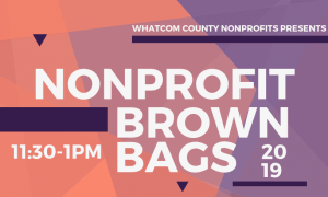 Non-profit Brown Bag: Non-profit Partnership and Collaboration @ St. Luke's Health Education Center