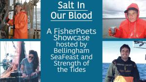 Salt in Our Blood: A FisherPoets Showcase @ The Mountain Room at Boundary Bay Brewery