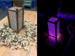 Make a Fusion Shoji Lamp @ Bellingham Makerspace