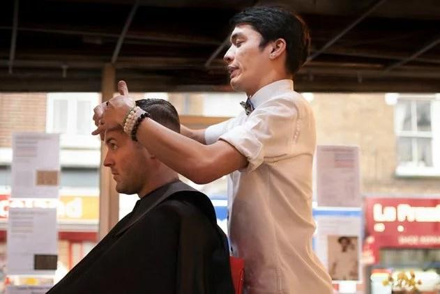 Luca Othman a West End hairdresser in SE1