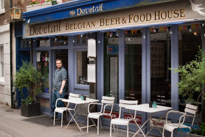 The Dovetail, Clerkenwell Road by What Dad Cooked