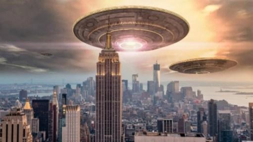 Explicação oficial da luz azul que inundou o céu de Nova Iorque é contestada 3