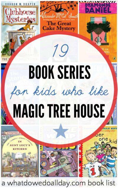 Magic Tree House Book List