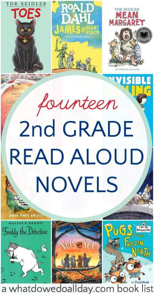 small resolution of Charming 2nd Grade Read Aloud Books