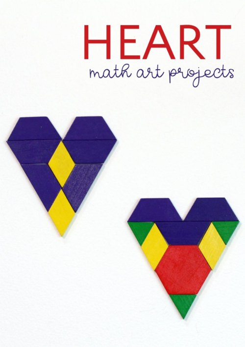 small resolution of Valentine's Day Math Art Ideas -- Without Worksheets