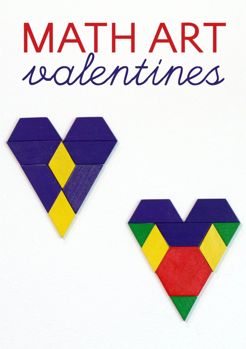 medium resolution of Valentine's Day Math Art Ideas -- Without Worksheets