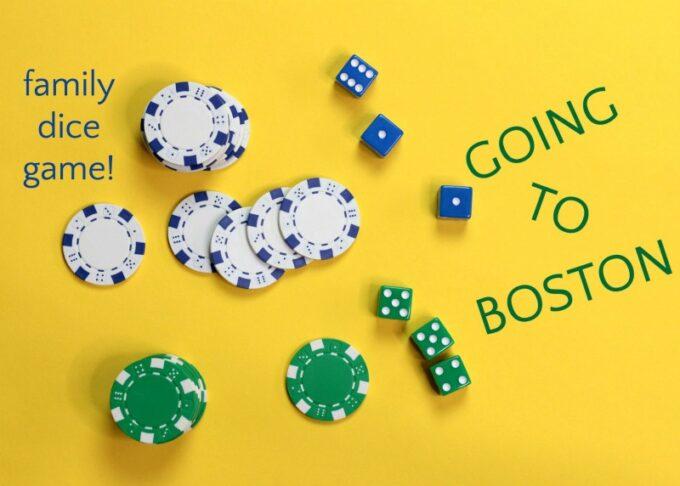 Going to Boston Dice Game: High Stakes Family Fun